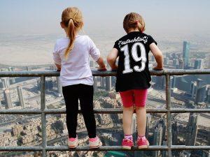 בדובאי עם ילדים
